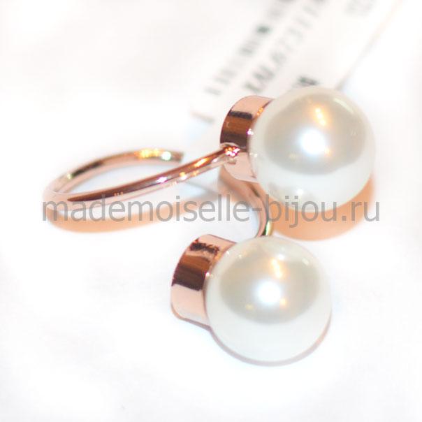 ece12cafa93d Купить Кольцо с двумя шариками La Perla Gold