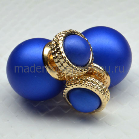 Элитные серьги Rome Blue Sky Ring