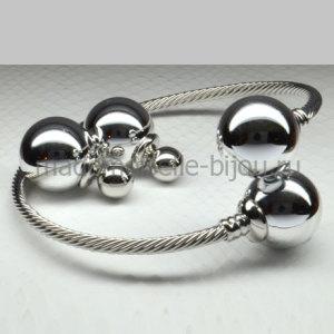 Комплект Серьги и Браслет Fashion Silver Lux