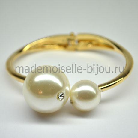 Браслет с шариками под жемчуг Fashion La perla