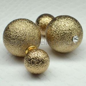 Серьги шарики Royal Bronze Mystique