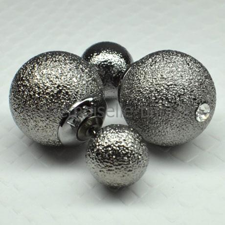 Серьги шарики Royal Titanium Mystique