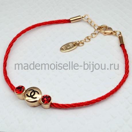 Красный браслет желаний Fashion CoCo
