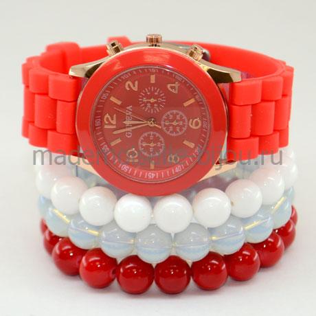 Часы с браслетами Red