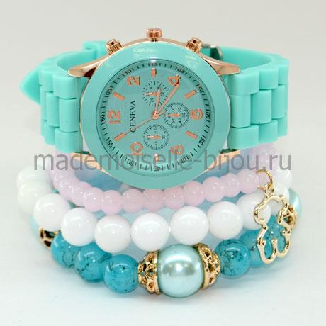 Комплект часы с браслетами Ocean Mint