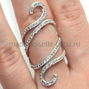 Кольцо в стиле Де Грисогоно Liana Silver