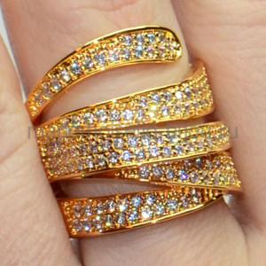 Кольцо в стиле Де Грисогоно Art Modern Gold