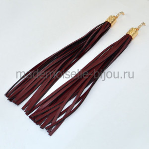Длинные серьги кисточки Oscar Grand Bordo G (17 cm)