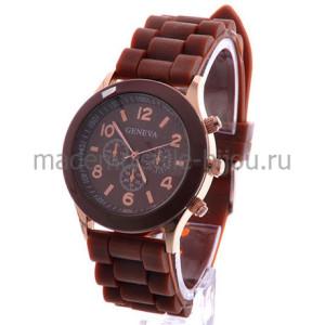 Силиконовые часы Jeneva Chocolate
