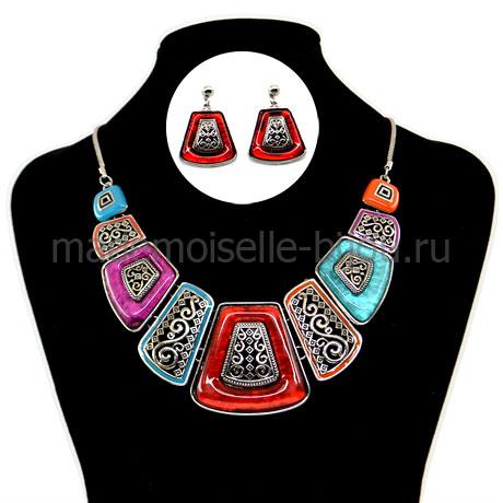 Ожерелье и серьги Shaherizada
