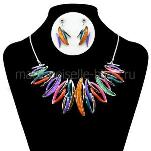 Ожерелье и серьги комплект Artemida