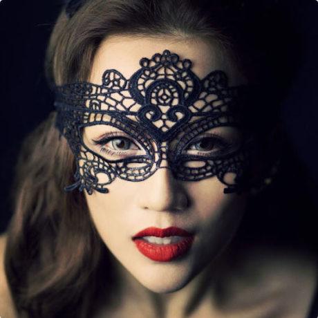 Кружевная маска Miss Mystery