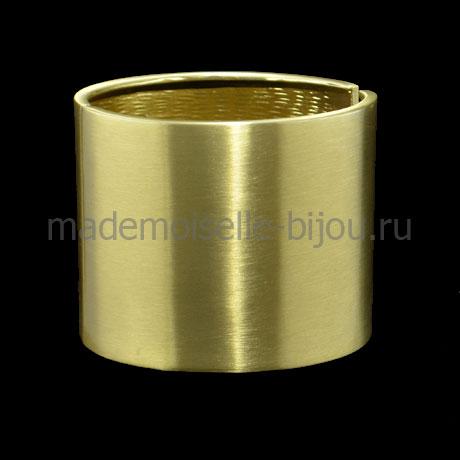 Широкий золотой браслет Kleo Gold Royal