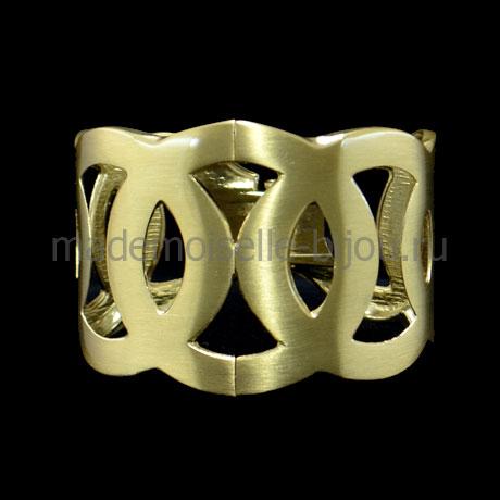 Женский широкий браслет Kleo Gold Crown