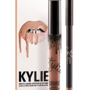 Матовая помада Kylie и карандаш для губ EXPOSED