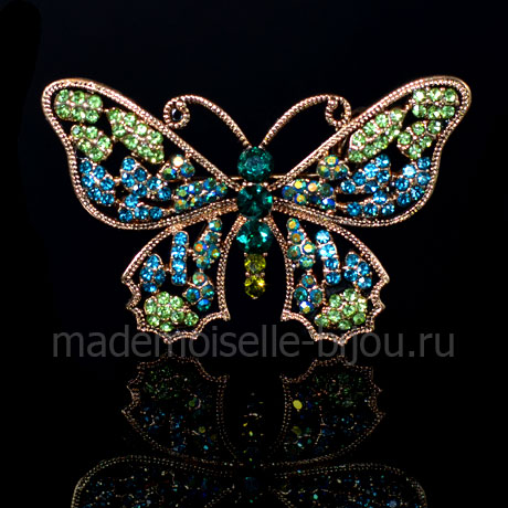 Брошь бабочка