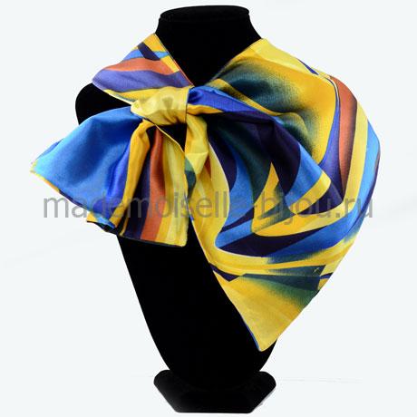Французский галстук синий Dali