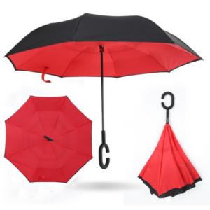 Зонт наоборот Up Brella Scarlet