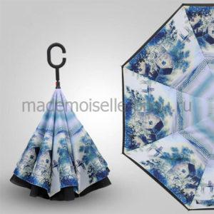 Умный зонт наоборот Up Brella Seasons Spring