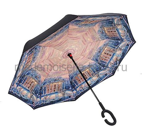 Зонт наоборот антизонт Up Brella Seasons Winter