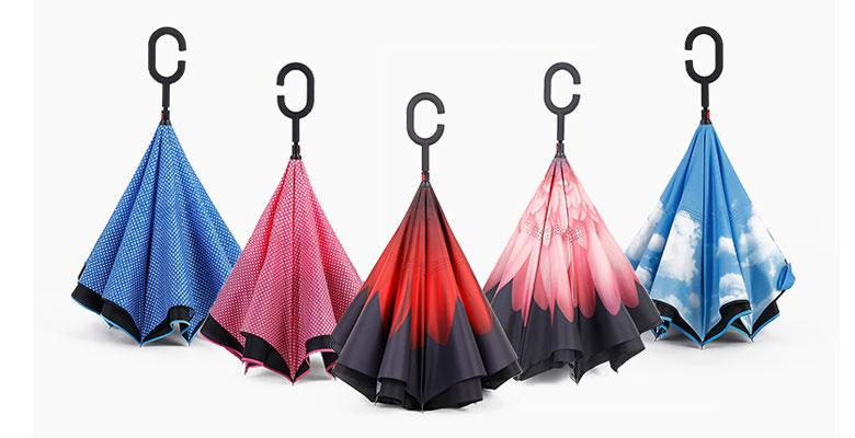 Зонт наоборот купить в интернет магазине Мадемуазель Бижу.