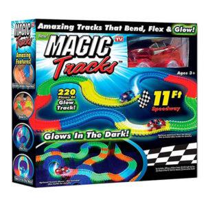 Magic Tracks светящийся 220 деталей