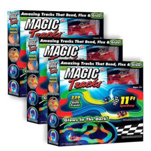 Гоночная трасса Magic Tracks (3 набора)